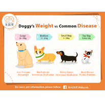 Doggy's Weight VS Common Disease